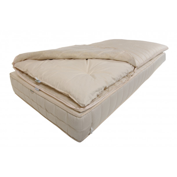 Mattress Topper Made From Hemp Cotton Sheep S Wool Cover Organic