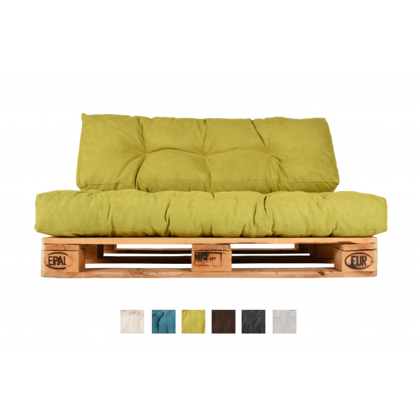 Terrific Pallet Couch Pillows And Pallet Sittings Hc Series Lime Machost Co Dining Chair Design Ideas Machostcouk
