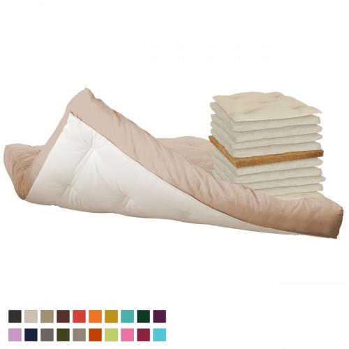 Coconut & cotton futon Vegan Vita-line Model 1