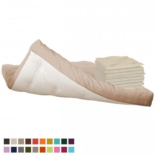 6 cotton layers futon vegan vita line model 4 sleep well  futon  futon mattresses   rh   futon24
