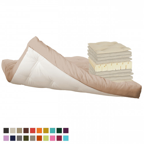 Latex & cotton futon. Vita-line Model 6