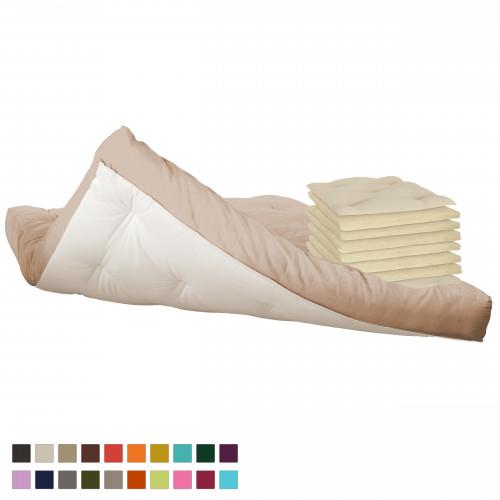 6 layers pure natural wool futon. Vita-line Model 8