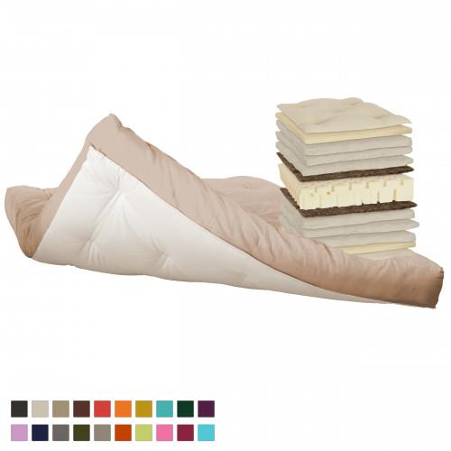 Latex, cotton, horsehair, natural wool futon. Vita-line 9