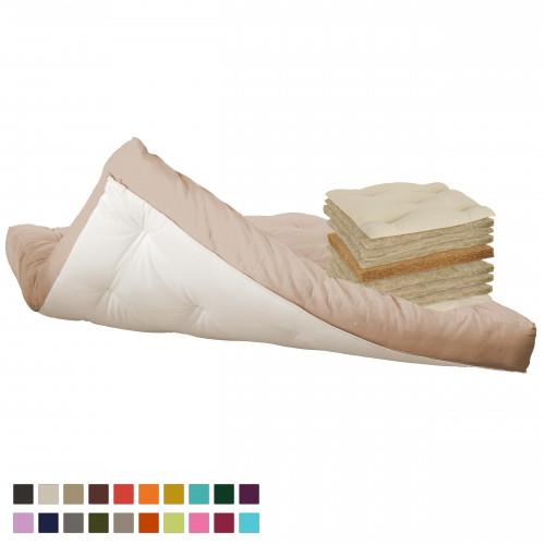 Hemp & coconut futon Vegan Vita-line Model 10