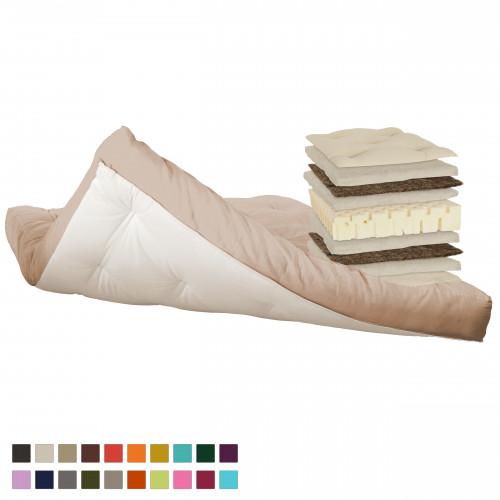 Cotton, latex, horsehair futon. Vita-line Model 11