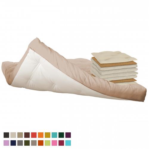Cotton & coconut futon Vegan Vita-line Model 12