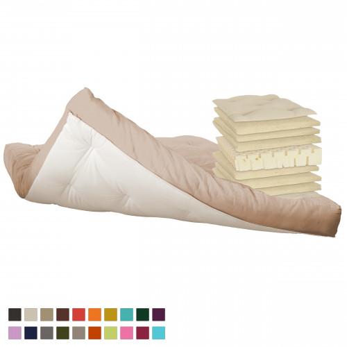 Latex & natural wool futon. Vita-line Model 15