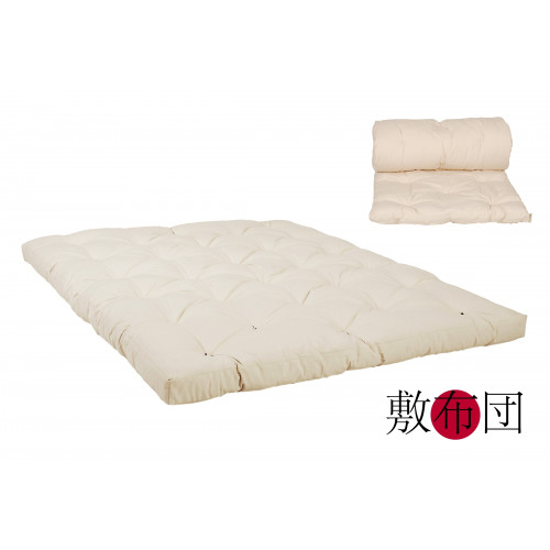 Original Japan Futon 160x200 natur aus 100% Baumwolle