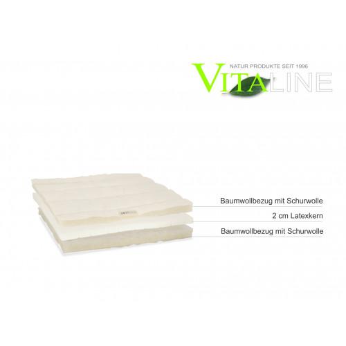 Mattres topper topper 2cm latex Vita-line